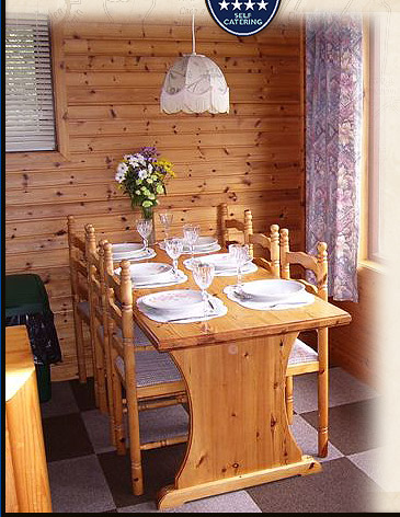 Four Star Self Catering Holiday Accommodation Lodges by Loch Ness in Drumnadrochit, near Inverness in the Highlands of Scotland